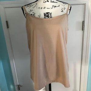 Tan cotton cami 18/20